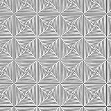 Square Illusion Black And White Graphic Pattern Royalty Free Stock Photo