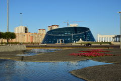 Square of Independence in Astana / Kazakhstan Royalty Free Stock Images