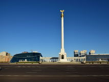 Square of Independence in Astana / Kazakhstan Stock Image