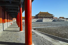 The square inside Forbidden City Royalty Free Stock Image