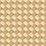 Square interweaving. Vector seamless background Stock Photos