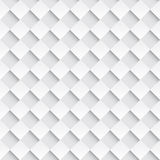 Square interweaving. Vector seamless background Stock Photography