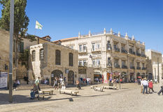 Square in jerusalem old town israel Royalty Free Stock Images