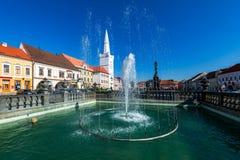 Square Kadan Czech republic stock photography