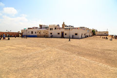 Square in the kasbah of the old city Rabat in Marocco Stock Photography
