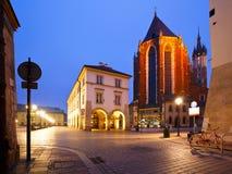 Square in Krakow. Stock Image