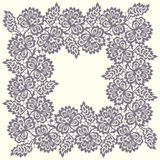 Square Lace Frame. Stock Images