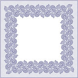 Square Lace Frame. Royalty Free Stock Image