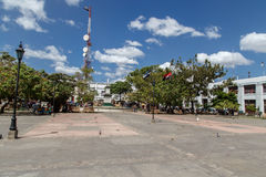 Square of Leon city in Nicaragua Stock Photography