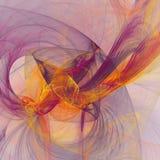 Square light fractal background. Square elegent light fractal background vector illustration