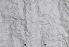 Square Lined paper crumpled texture. HD image of Lined paper crumpled Stock Photo