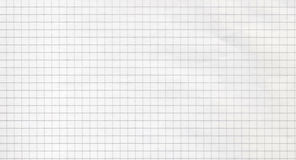 Square lined paper pattern. White square lined paper pattern Royalty Free Stock Photos