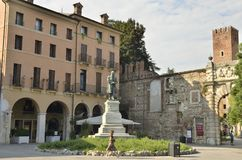 Square Matteotti. Royalty Free Stock Photography