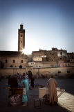 Square in medina of Fez, Marocco Stock Image