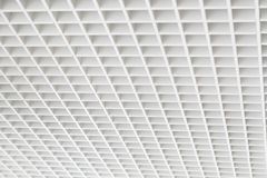 Square mesh ceiling Stock Images