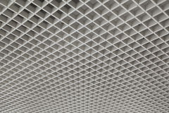 Square mesh ceiling Royalty Free Stock Photo