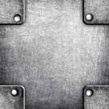 Square metal template Royalty Free Stock Photography