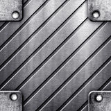 Square metal template stock photo