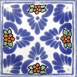Square Mexican tile shape royalty free stock image