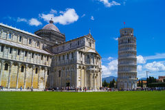 Square of Miracles. Pisa, Italy Stock Images
