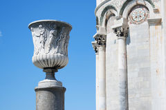 Square of miracles. Pisa Stock Photography