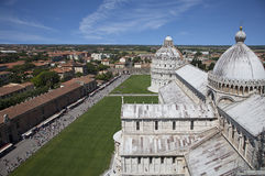 Square of Miracles in Pisa, Tuscany, Italy Stock Images