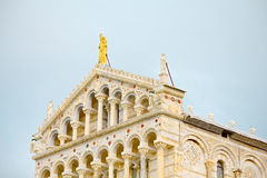 Square of Miracles, Pisa Tuscany, zoom of the cathedral Stock Photo