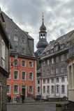 Square in Monschau, Germany Royalty Free Stock Photo