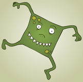 Square Monster. Represent a square monster. eps 8 file Stock Photography