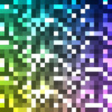 Square mosaic background. Vector eps10 Stock Images