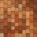 Square mosaic 3d. Vintage colorful texture. Vector Royalty Free Stock Photos