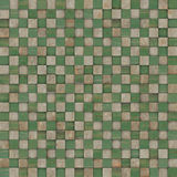 Square mosaic tiled metal rusty grunge pattern Royalty Free Stock Photo