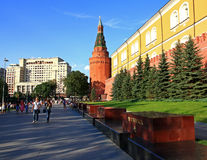 Square in Moscow. Royalty Free Stock Photos