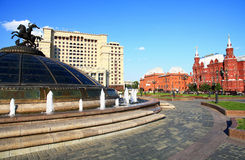 Square in Moscow. Stock Photography
