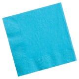 Square napkin isolated on white background Stock Photo