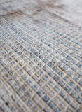 Square network of old carpet. Texture Royalty Free Stock Image