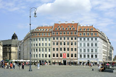 Square New Market in Dresden - German Royalty Free Stock Photography