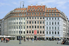 Square New Market in Dresden - Germany Royalty Free Stock Images