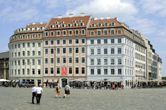 Square New Market in Dresden - Germany Stock Photos