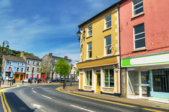The square of Newcastle West. Town in Ireland Stock Photo