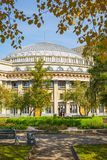 Square, Novosibirsk state academic Opera and ballet theatre Stock Photography