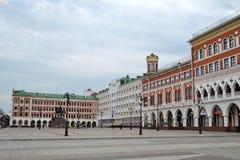 Square of Obolensky-Nogotkov in Yoshkar-Ola Royalty Free Stock Photos