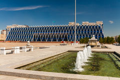 Square Of Independence In Astana City. Stock Images