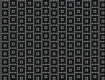 Square offset dot background. In black and silver Stock Photography