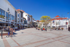 Square of the old town in Sopot, Poland Royalty Free Stock Image