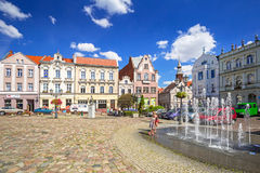 Square in the old town of Tczew Stock Image