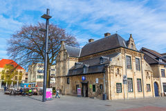 Square in the old town of Valkenburg, Germany Royalty Free Stock Images
