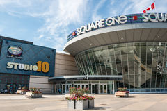 Square One Shopping Centre Entrance Royalty Free Stock Photos