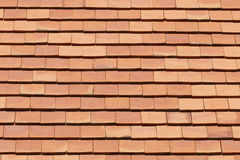 Square orange roof tile for pattern Royalty Free Stock Photography
