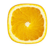 Square Orange Slice Royalty Free Stock Photo